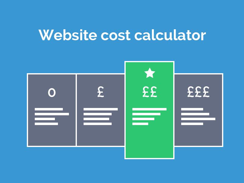web development fees calculate